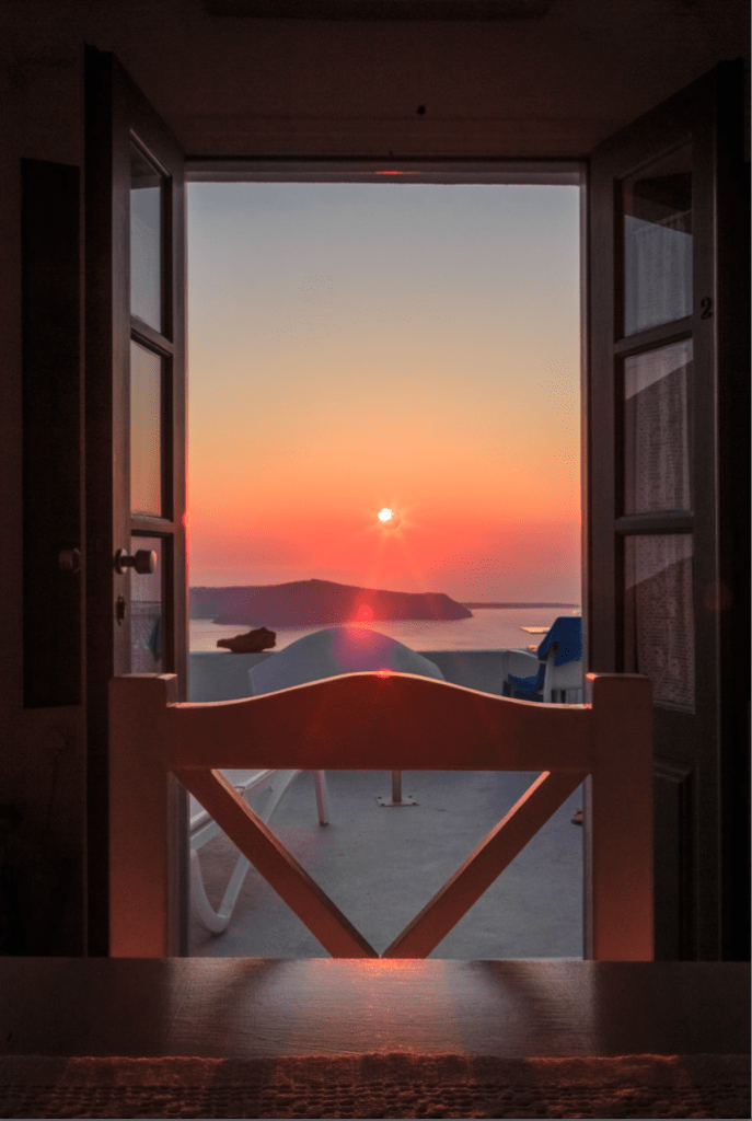 Kasimatis Suites Imerovigli sunset second image 24102018